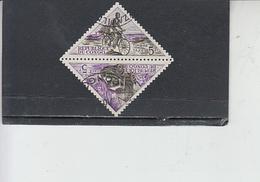 CONGO  1961 - Yvert  Taxe  40-41° - Congo - Brazzaville