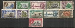 ILES GILBERT & ELLICE.  émission Roi George VI, Année 1939.  11 Timbres Oblitérés, 1 ère Qualité. Côte 15,00 Euro - Timbres