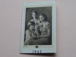 1942 > Koninklijke Familie ( Zie Foto's Voor Detail > Alban / Kunst L.A.B. Brussel ) ! - Calendriers