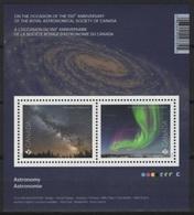 Canada (2018) - Block -  /  Antarctic - Antartida - Antartide - Polar - Aurora - Astronomie - Astronomy - Sterrenkunde