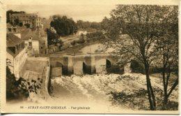 CPA - AURAY-SAINT-GOUSTAN - VUE GENERALE - Auray