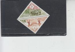 CONGO  1961 - Yvert  Taxe  36-37° - Servizi - Congo - Brazzaville