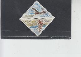CONGO  1961 - Yvert  Taxe   34-35** - Servizi - Aereo - Congo - Brazzaville