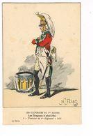 Uniforme 1er Empire. Les Dragons à Pieds.Tambour 1805.  H.Feist. ( 3) - Uniformen