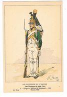 Uniforme 1er Empire. Les Dragons à Pieds.1805.  H.Feist. (5) - Uniformes