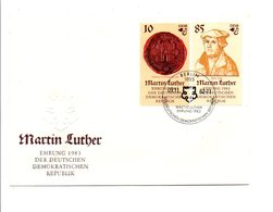 ALLEMAGNE RDA DDR 1982 SERIE 500 ANS NAISSANCE DE MARTIN LUTHER - [6] Democratic Republic