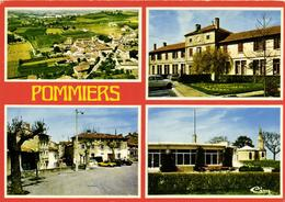 1 Cpsm Pommiers - Francia