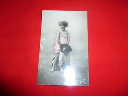 Cartolina Bambina Con Cane - Scenes & Landscapes