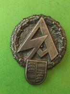 NAZISMO Spilla Da Giacca Stoccarda 1/7/1934 - Germany