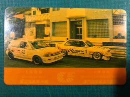 MACAU-CTM  1989\90 GRAND PRIX MACAU PHONE CARD FINE USED - GUIA RACE - Macau