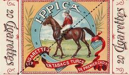 1893 Rare Papier étiquette De Paquet De Cigarettes Cigarette I - PICCA Tabac Turc - Cigarettes - Accessoires