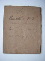 CARTE TOPOGRAPHIQUE - 54 - LUNEVILLE SO - CHARMES - GERBEVILLER - MILITARIA - D'UN MILITAIRE LIEUTENANT DU 156 RI - Cartes Topographiques