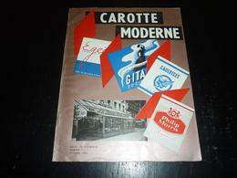 LA REVUE DES DEBITS DE TABACS N°1 OCTOBRE 1958 CAROTTE MODERNE + DEPLIANT CIGARETTE GITANE GAULOISE PHILIP MORRIS (AD) - Livres