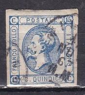 Regno D'Italia, 1863 - 15 Cent Vittorio Emanuele II° - 2° Tipo - Nr.13 Usato° - Usati