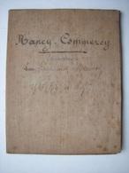 CARTE TOPOGRAPHIQUE - 54 - NANCY COMMERCY - MILITARIA - D'UN MILITAIRE LIEUTENANT DU 156 RI - Cartes Topographiques