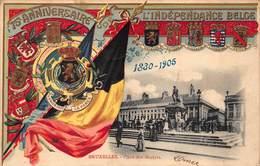 België  Gedenkenis Van Het 75e Verjaren Van De Belgische Onafhankelijkheid  Brussel Bruxelles  1830-1905          I 5192 - Other Wars