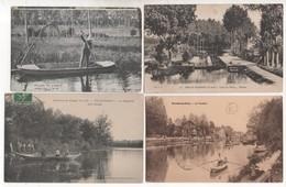 LD77 / Lot D'environ 800 Cpa,cpsm Et Cpm De SEINE ET MARNE ( Voir Déscriptif) - Postcards