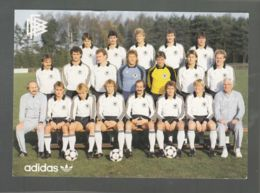 CP (Sp.) Football - Die Natinalmannschaft Des Deutschen Fussball-Bundes 1983/84 - Football