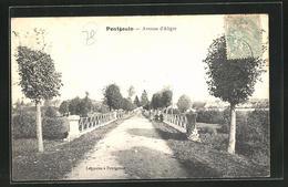 CPA Pontgouin, Vue Dans L`Avenue D`Aigle - Zonder Classificatie