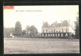 CPA Aunay, Le Chateau, Cote Du Parc - Sin Clasificación