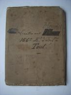 CARTE TOPOGRAPHIQUE - 54 - TOUL - MILITARIA - D'UN MILITAIRE LIEUTENANT DU 156 RI - Cartes Topographiques