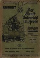 MANUEL INSTRUCTION ARMEE ALLEMANDE WEHRMACHT REIBERT DIENST UNTERRICHT IM HEERE 1937 - 1939-45