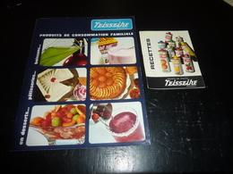 CATALOGUES PUBLICITAIRES SIROPS DE FRUITS TEISSEIRE GRENOBLE EN DESSERTS, PATISSERIES, BOISSONS... (AD) - Gastronomie