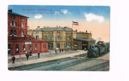 Herbesthal.Grenz-Bahnhof.Letzte Bahnstation 100 M Von Der Belg.Grenze. - Lontzen