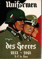 UNIFORMEN DES HEERES 1939 1945 UNIFORME ARMEE TERRE ALLEMANDE COIFFURE TENUE COMBAT CAMOUFLAGE EQUIPEMENTS - 1939-45