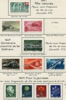 10660 SUISSE  Collection Vendue Par Page  °/ * Fête Nationale Et Pour La Jeunesse   1947  TB/TTB - Suisse