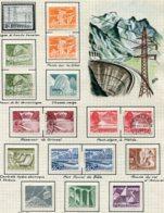10663 SUISSE  Collection Vendue Par Page  °/* Série Technique Et Paysages    1949  TB/TTB - Suisse