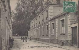 Chevreuse : Ecole Communale Des Filles, Rue Dampierre - Chevreuse