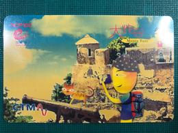 MACAU CTM EASY CALL CARD MONTE FORT SPECIAL ISSUE. - Macau
