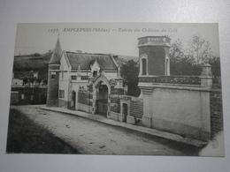 69 Amplepuis, Entrée Du Chateau Du Crêt (7675) - Amplepuis