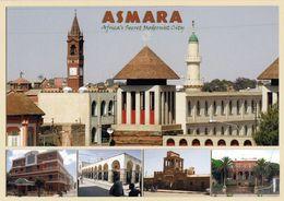 """1 AK Eritrea * Hauptstadt Asmara - Seit 2017 Zählt Asmara Als """"modernistische Stadt Afrikas"""" Zum UNESCO-Weltkulturerbe * - Erythrée"""
