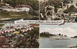 CPSM ALLEMAGNE / Gruss Aus Dem Weinort  SASBACH  A. Rhein / CARTE MULTI-VUES - Sasbach