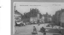 Chalon Sur Saône.Place De L'Hotel De Ville - Chalon Sur Saone