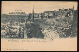 LUXEMBOURG  VILLE HAUTE ET PARTIE DU GRUND - Luxembourg - Ville
