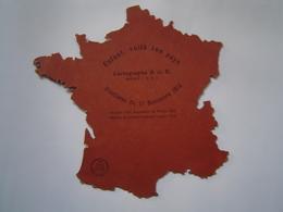 ECOLE : CARTE DE FRANCE En Découpis / ENFANT VOILA TON PAYS / Concours LEPINE 1923 - Vieux Papiers
