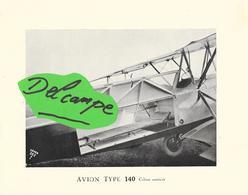 Superbe Photo Sur Papier Original  - AVION TYPE 140 Cabine Sanitaire - Aviation
