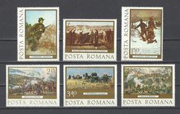 ROUMANIE. YT  N° 3027/3032  Neuf *  1977 - 1948-.... Republics
