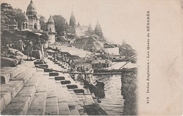 AK Benares Kashi Varanasi वाराणसी Quais Ghats Ganges Ganga गंगा गङ्गा Indien British India Inde Indie भारत गणराज्य - India