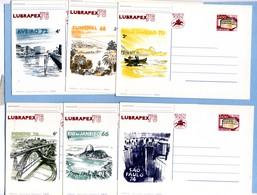1976 LUBRAPEX - Postal Stationery