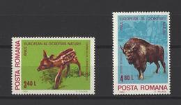 ROUMANIE. YT  N° 3275 - 3276  Neuf *  1980 - 1948-.... Republics