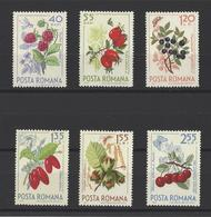 ROUMANIE. YT  N° 2086--2091  Neuf *  1964 - 1948-.... Republics