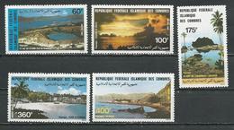 COMORES Scott 571-575 Yvert 388-392 (5) ** Cote 13,00 $ 1983 - Comores (1975-...)