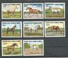 COMORES Scott 579-586 Yvert 396-403 (8) ** Cote 22,00 $ 1983 - Comores (1975-...)