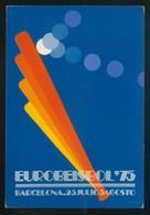 Barcelona. *Eurobeisbol'75* Dep. Legal B. 25002-75. Nueva. - Postales