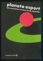 Barcelona. *Planeta Esport 1989 - Olimpiada Cultural* Nueva. - Eventos