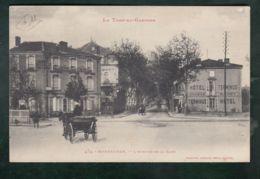 CPA (82) Montauban - Avenue De La Gare - Montauban